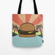 Burger Paradise  Tote Bag