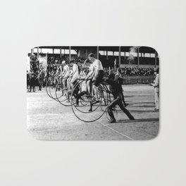 Bicycle race Bath Mat