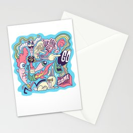 Doodle #2389 Stationery Cards