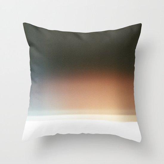 Film Burn III Throw Pillow