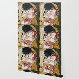 The Kiss by Kustav Klimt - Version by Nymphainna Wallpaper