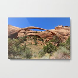 Beautiful Landscape Arch Metal Print