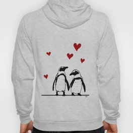 Love Penguins Hoody