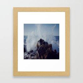 Make mine with a splash of water on the rocks Framed Art Print