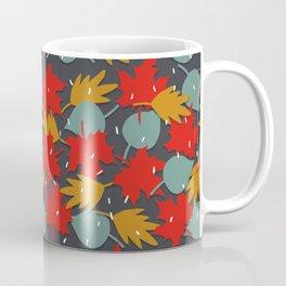 Falling red leaves Coffee Mug