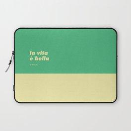 La vita è bella Laptop Sleeve