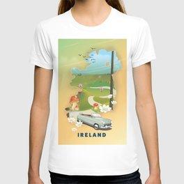 Ireland vacation poster. T-shirt