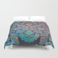 boho Duvet Covers featuring Boho Intense by micklyn
