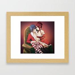 Jerza Christmas Framed Art Print