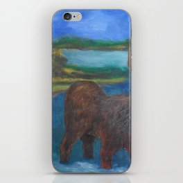 MOOSE CALL SCENERY iPhone Skin