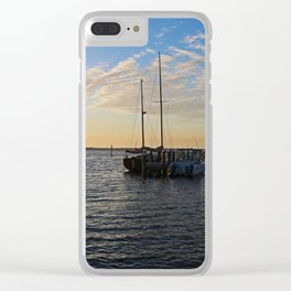 At the Marina Clear iPhone Case