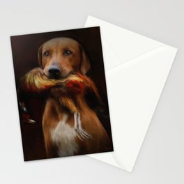 Hunter's Dog Stationery Cards