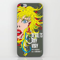 Results May Vary iPhone Skin