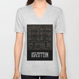Physical Graffiti. Zeppelin lyrics print. Unisex V-Neck