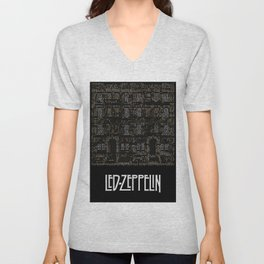Physical Graffiti. Zeppelin lyrics print. Unisex V-Neck