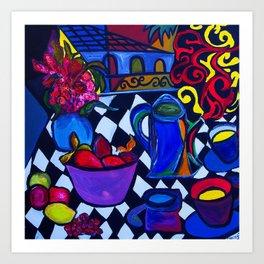 Santa Barbara  #society6 #decor #buyart Art Print