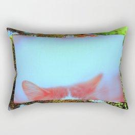 meow. Rectangular Pillow