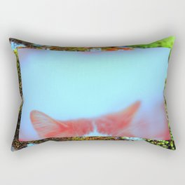 meow. Rectangular Pillow
