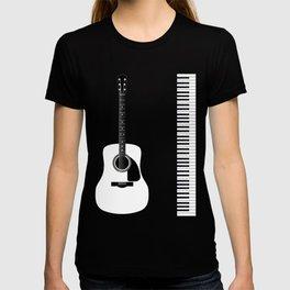 Guitar Piano Duo T-shirt