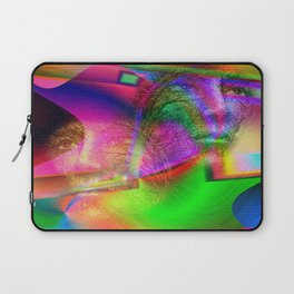""""""" The voice is a second face. """" Laptop Sleeve"""