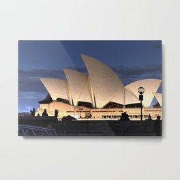 Sydney Opera House v2 Metal Print