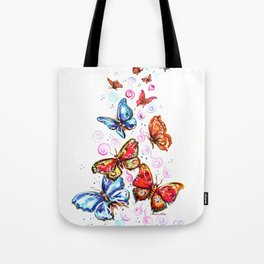 143dc2dd8f Butterfly Print Tote Bags