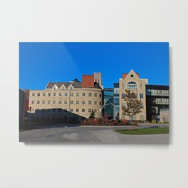 University of Toledo- Stranahan Hall North and South Halls I Metal Print