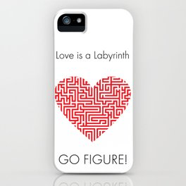 Love is a Labyrinth iPhone Case