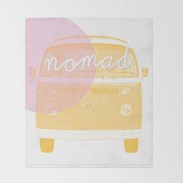 nomads Throw Blanket