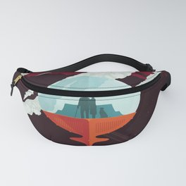 NASA Visions of the Future - Beautiful Southern Enceladus Fanny Pack