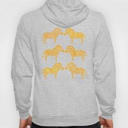 Zebras – Yellow Palette Hoody