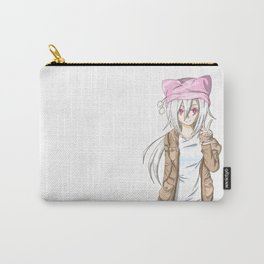 Anime Girl (light) Carry-All Pouch