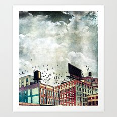 The Rooftop #5 Art Print