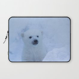 polar bear cub Laptop Sleeve