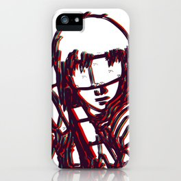 Kusanagi-Ghost In The Shell iPhone Case