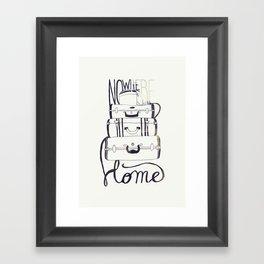 Nowhere Home Framed Art Print