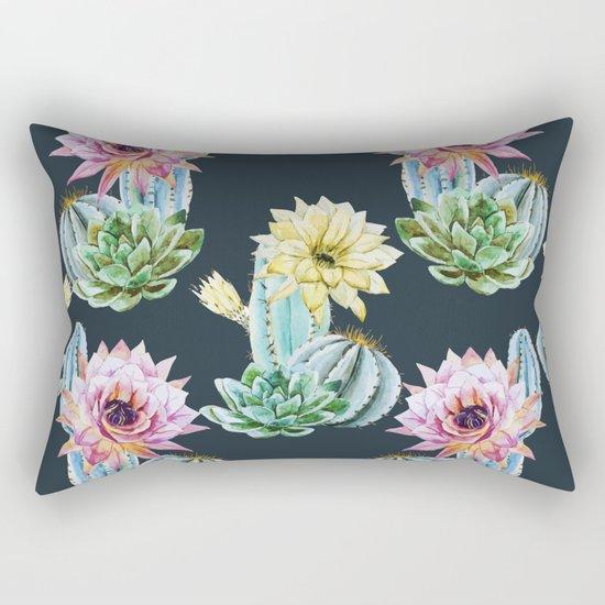 Cactus Pattern 07 Rectangular Pillow