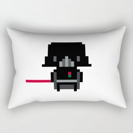 Pixel Darth Vader Rectangular Pillow