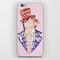 willy wonka iPhone & iPod Skins featuring Willy Wonka and The Chocolate Factory by Aaron Bowersock