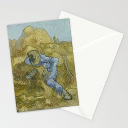The Sheaf-Binder (after Millet) Stationery Cards