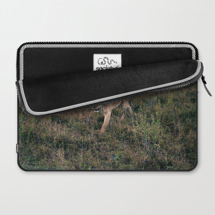 Lone Lion. Laptop Sleeve