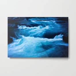 You're the Fire and the Flood Metal Print