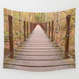 Orange Grove Suspension Bridge Wall Tapestry
