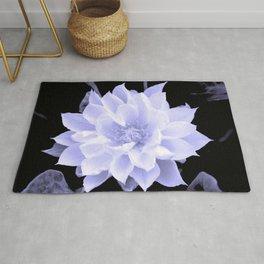 Clematis Lavender Hue Rug