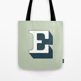 BOLD 'E' DROPCAP Tote Bag