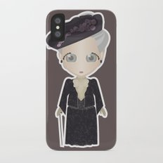 Violet Crawley, Dowager Countess of Grantham Slim Case iPhone X