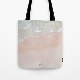 Surf yoga Tote Bag