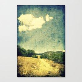 A Heart To Follow Canvas Print