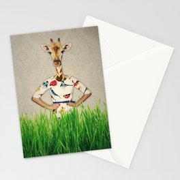 Giraffing Stationery Cards