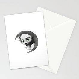 Cat & Moon Stationery Cards
